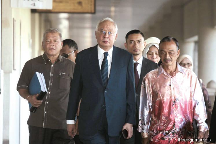 Najib: I thought I was spending Arab donation