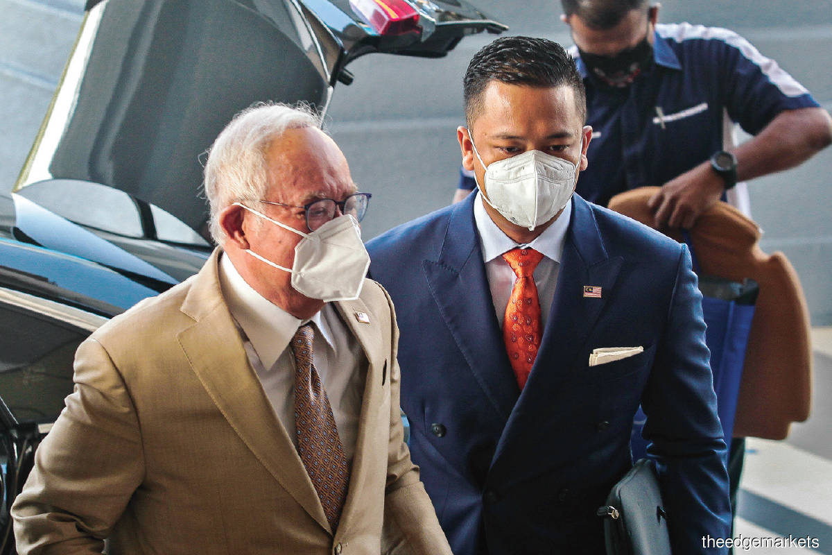 According to 1MDB, Najib allegedly received more than US$700 million of misappropriated funds belonging to the group. (Photo by Zahid Izzani/TheEdge)