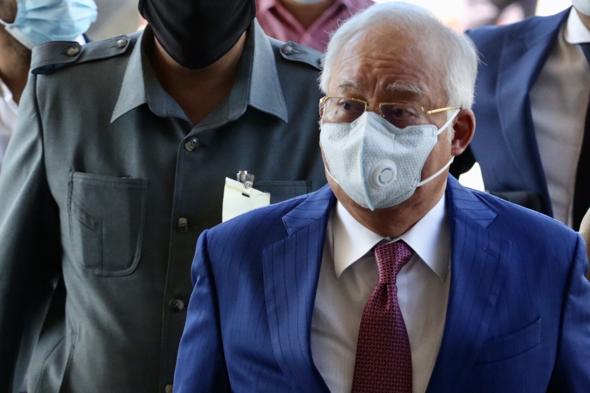 The accused are said to have received money that originated from 1MDB that was paid by Najib. (Photo by Sam Fong/theedgemarkets.com)