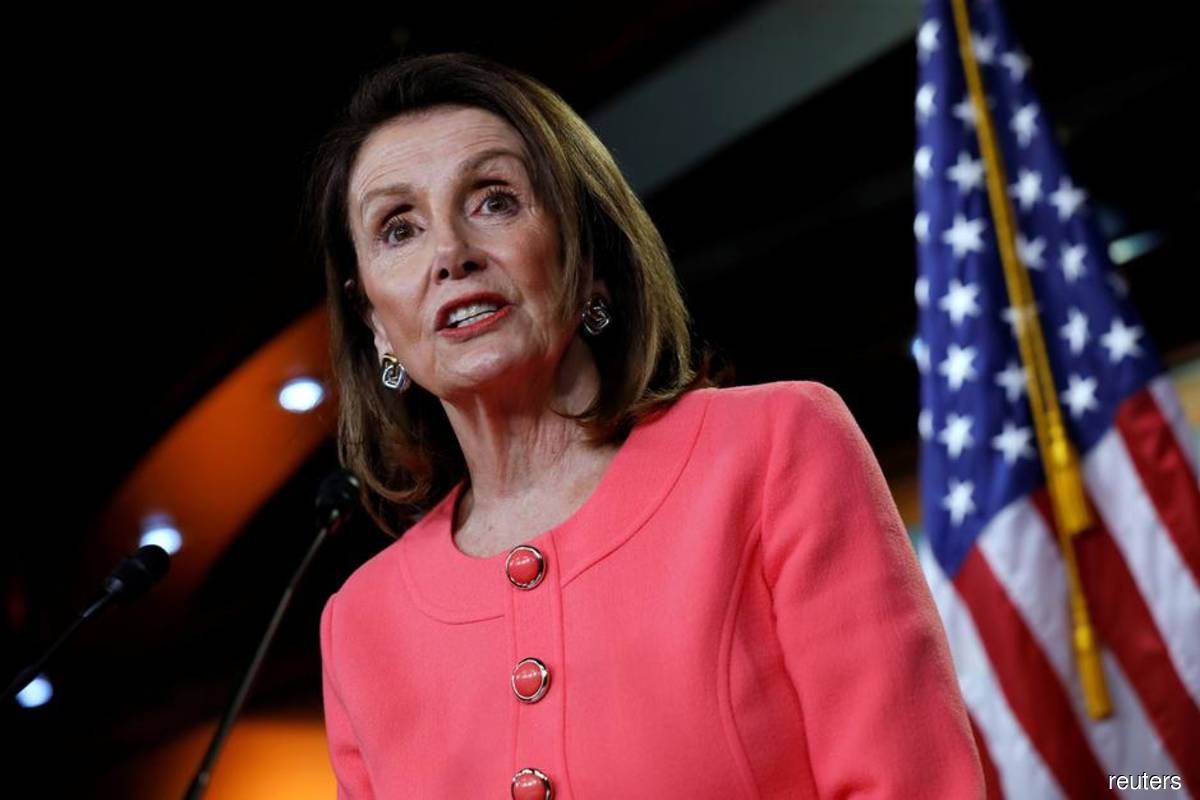 Pelosi tells lawmakers to prepare for action next week on Trump