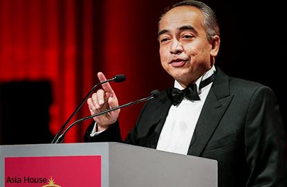 纳西尔荣获Asia House亚洲企业领导人大奖