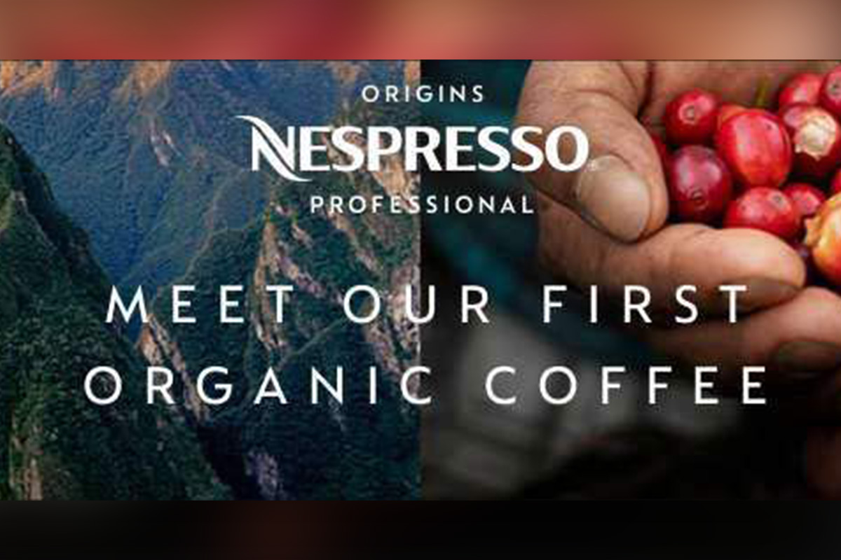 Nespresso Professional celebrates the taste of terroir with its new Origins Peru Organic coffee