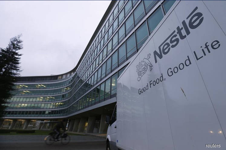 Nestle upbeat after US and China boost first-quarter growth