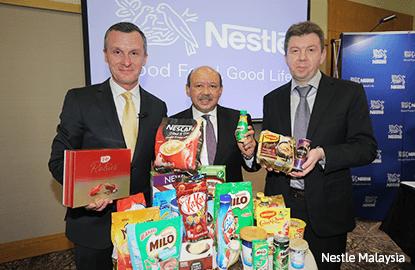 Nestle Malaysia's 3Q net profit up 19%, pays 65 sen dividend