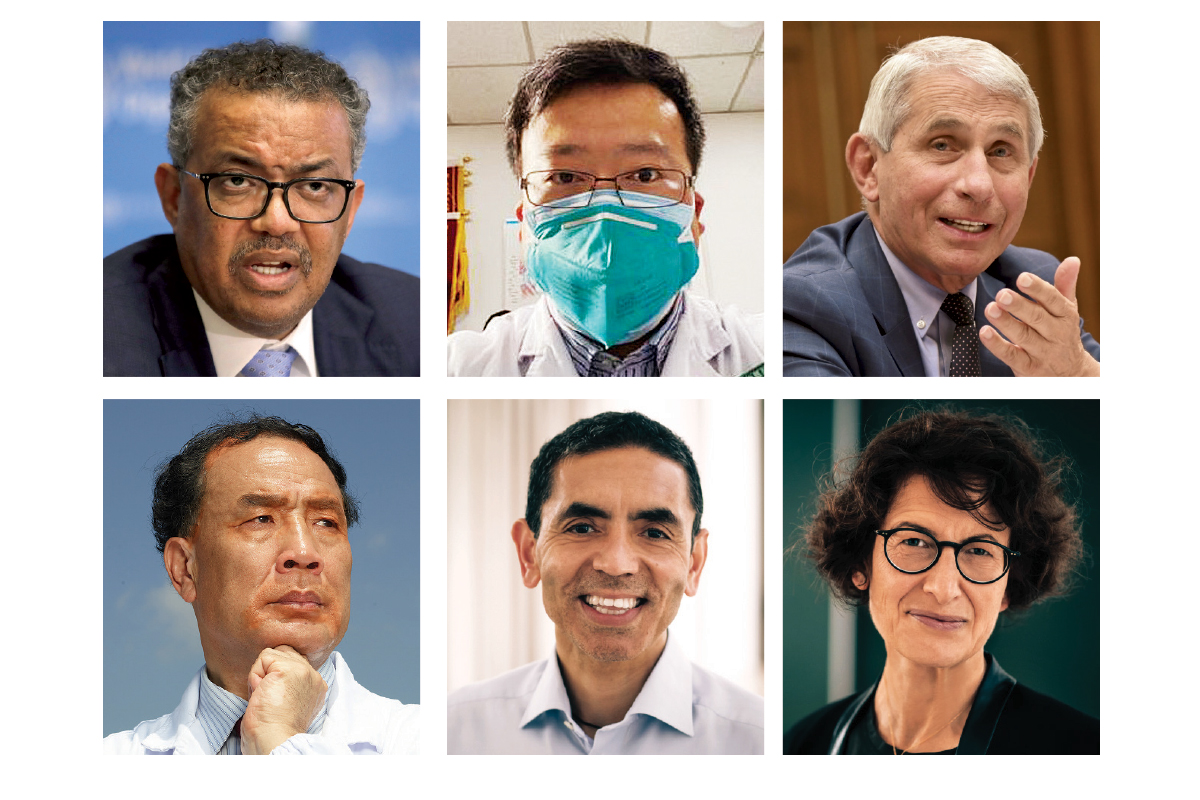 Newsmakers 2020: Scientists and doctors answer the call of duty