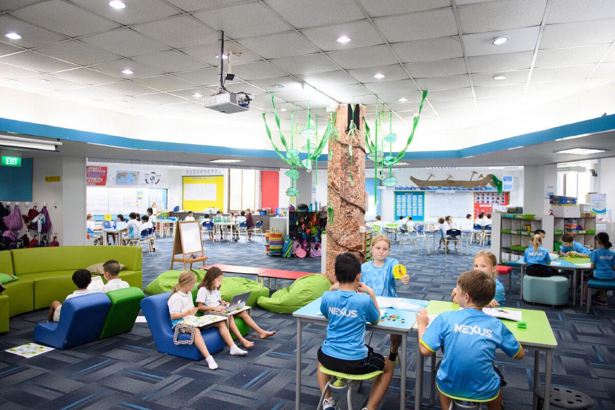 A class at Nexus International School Singapore