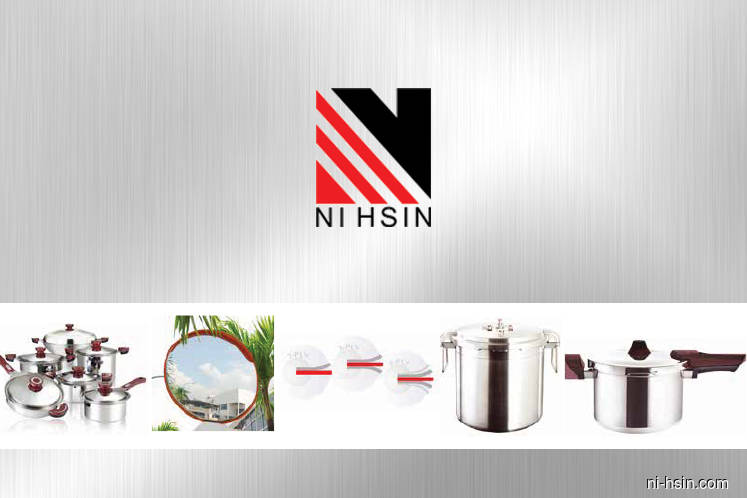 Ni Hsin falls 3% after signing distributorship deal with Japanese cookware maker
