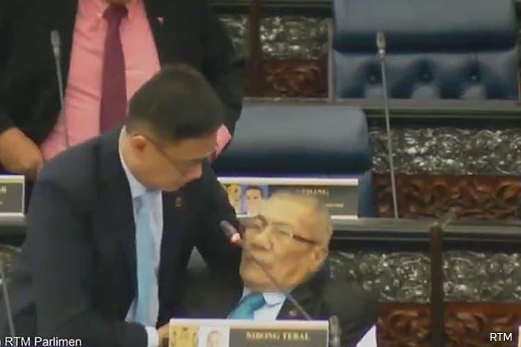 Nibong Tebal MP Mansor Othman collapses during Budget 2020 debate