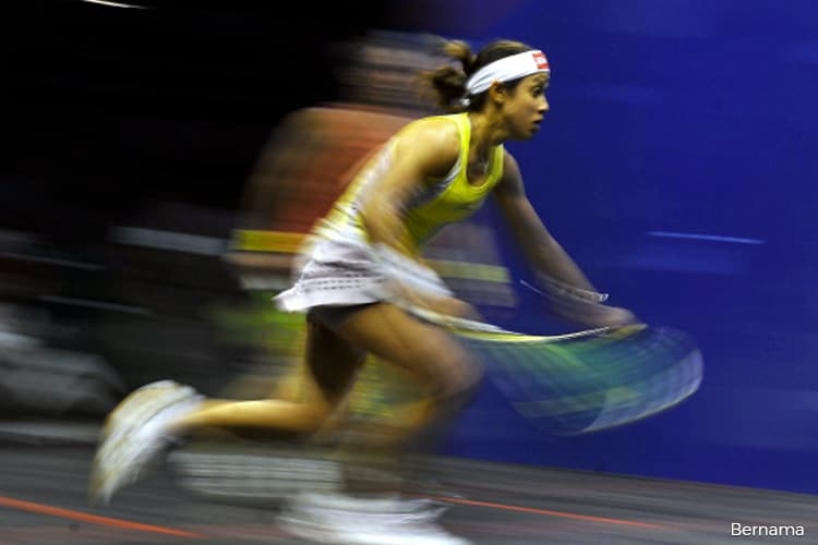 Flying start for Nicol David in US Open