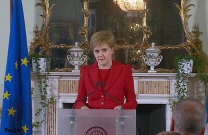 Scotland must have choice on independence if Brexit wishes ignored — Sturgeon