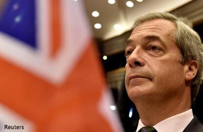 Obama's EU envoy says Brexiteer Farage misleading Trump on EU break-up