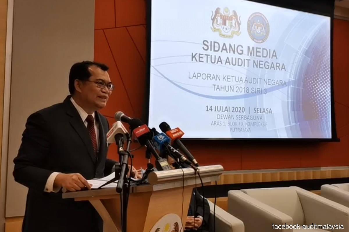 Auditor-General Datuk Nik Azman Nik Abdul Majid