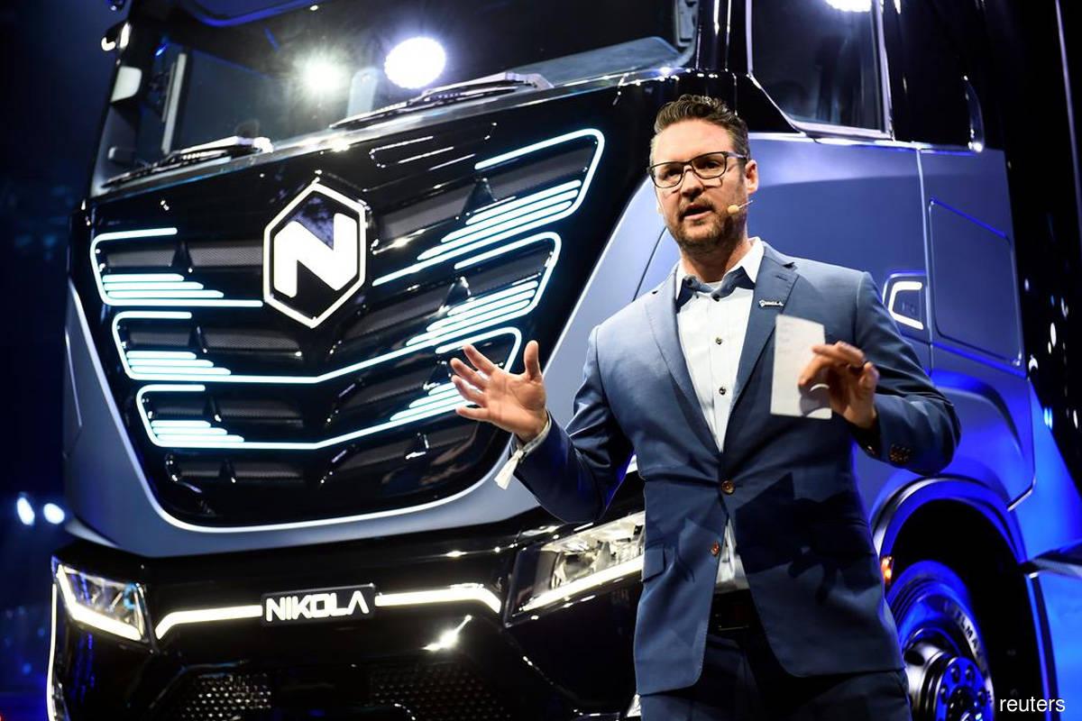 Nikola share slump deepens as founder resigns