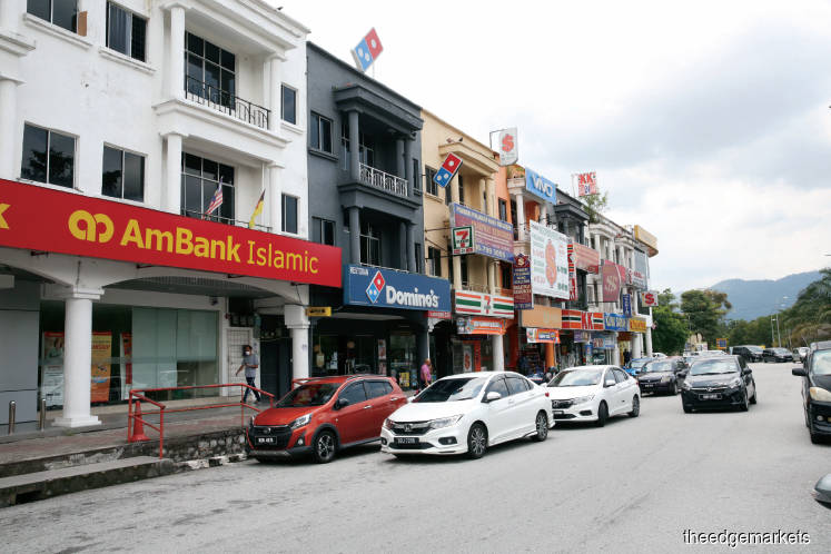 Putra Point is the main commercial centre in Nilai. (Photo by Sam Fong/The Edge)