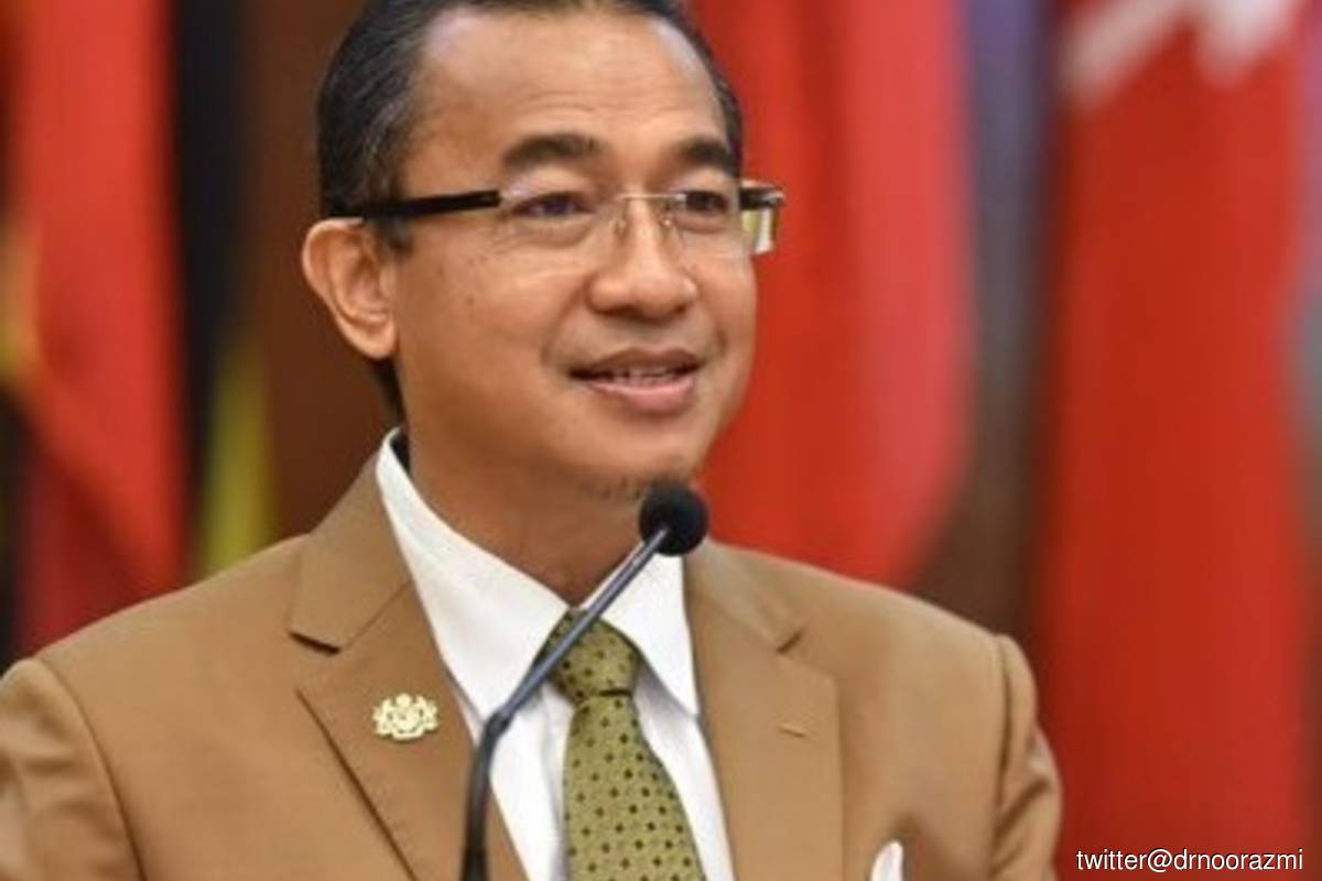Deputy Health Minister Datuk Dr Noor Azmi Ghazali