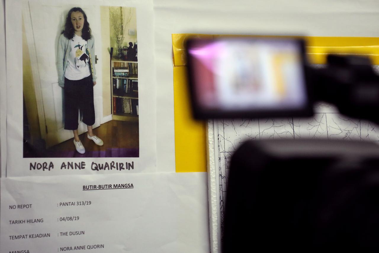 Pathologists in Nora Anne autopsy seen leaving Hospital Tuanku Jaafar