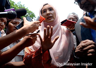Retract or get sued, Nurul tells NST, Berita Harian over Justo reports
