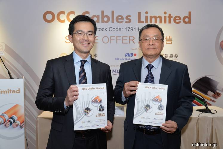 OCC Cables' Hong Kong IPO expected to raise HK$149m
