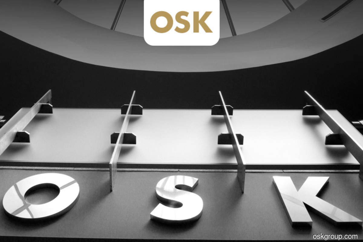 OSK's 4Q profit drops 25% to RM97m, plans three sen dividend