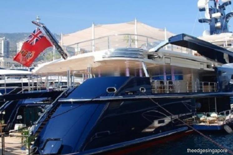 Indonesia govt seizes Jho Low's US$260m superyacht in Bali