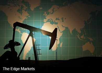 Oil eases on persistent supply glut, production outlook