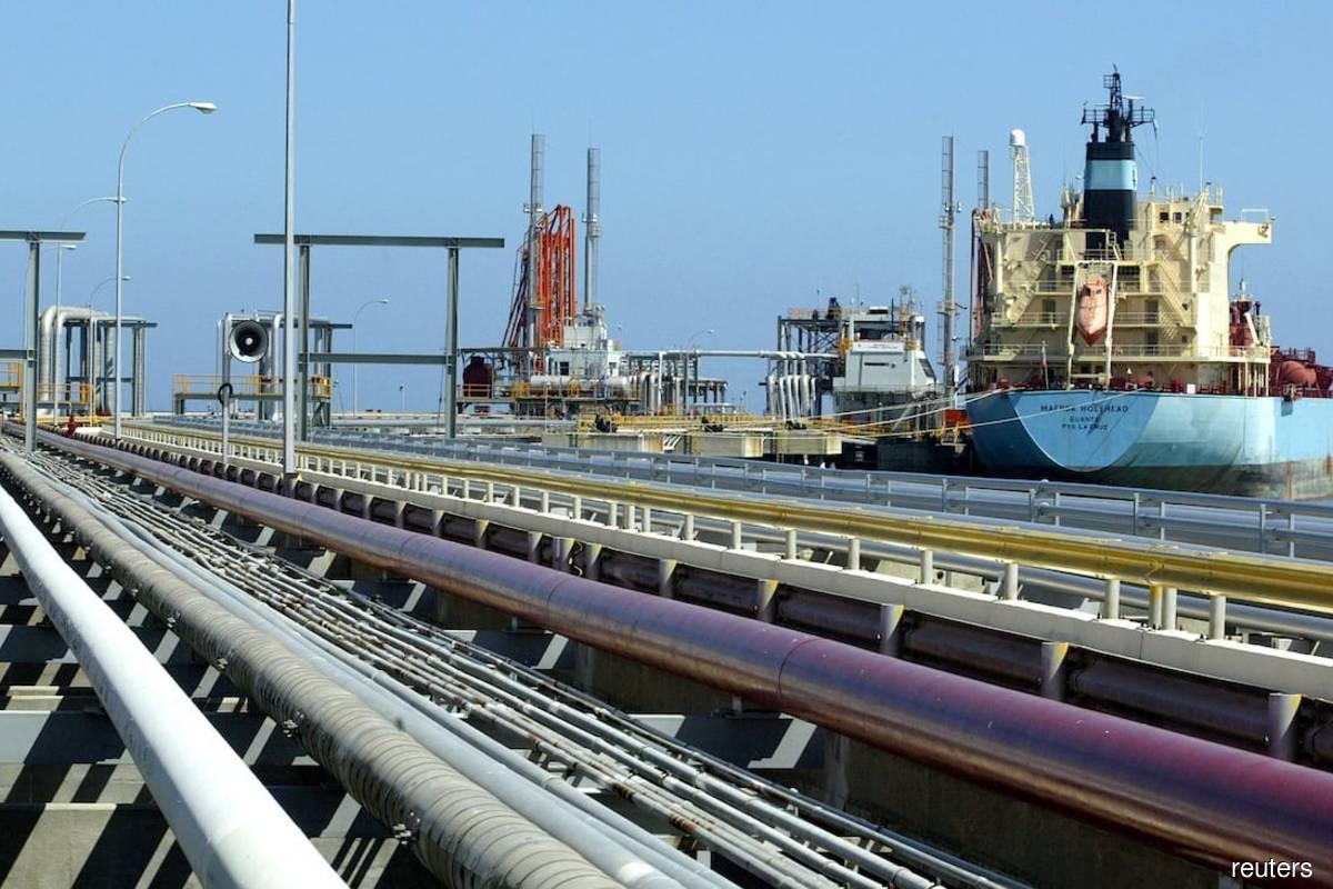 Reuters file pix of a crude oil tanker.