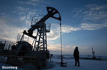 Oil stable as OPEC's cuts bite, although bloated market still weighs