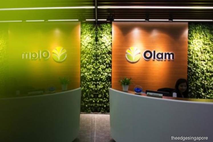 Olam's 2Q earnings down 36.4% to S$94m on coffee and peanut business