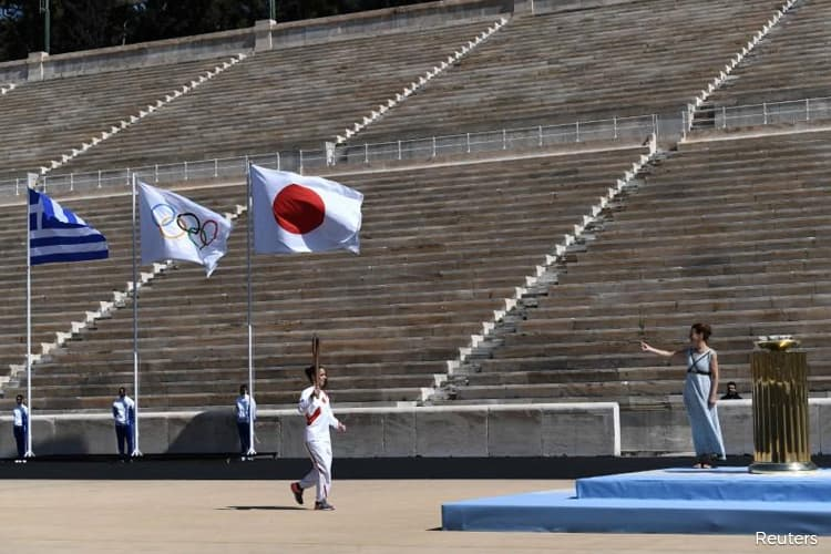 Olympic flame arrives in Japan amid worries over coronavirus impact