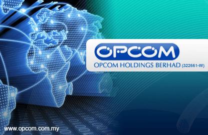 获6780万令吉马电讯合约 Opcom攀升5.8%