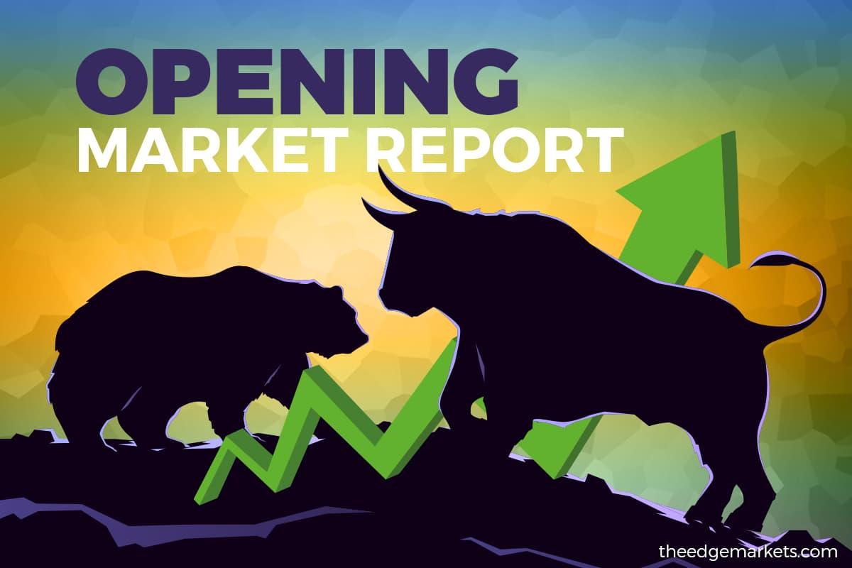 Bursa opens firmer, extends gains
