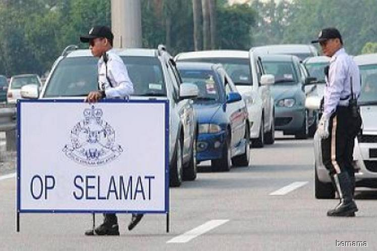 Mandatory RM300 summons for six major offences in Op Selamat