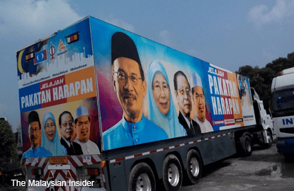 Pakatan Harapan rolls out Optimus Prime on nationwide roadshow