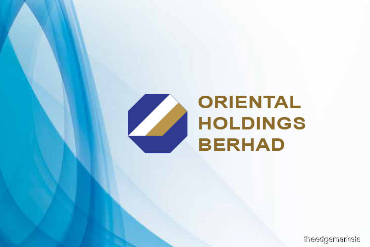 Nearly half of Oriental Holdings' share price is cash