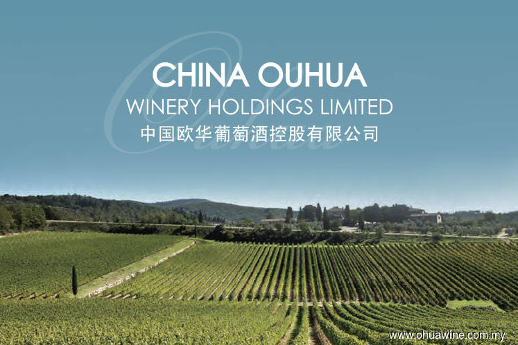 China Ouhua falls 6.67% on external auditor's qualified opinion