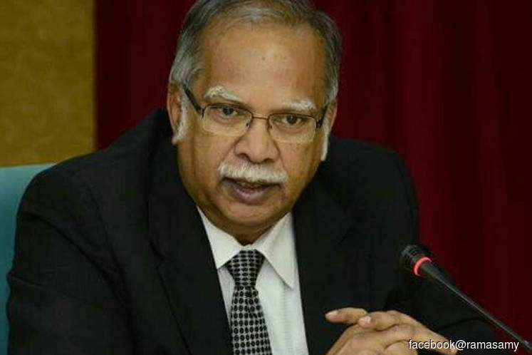 Ramasamy: Dr Mahathir not the mastermind