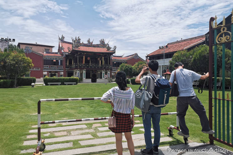 As tourism drives residents out, Malaysia's heritage city turns to millennials