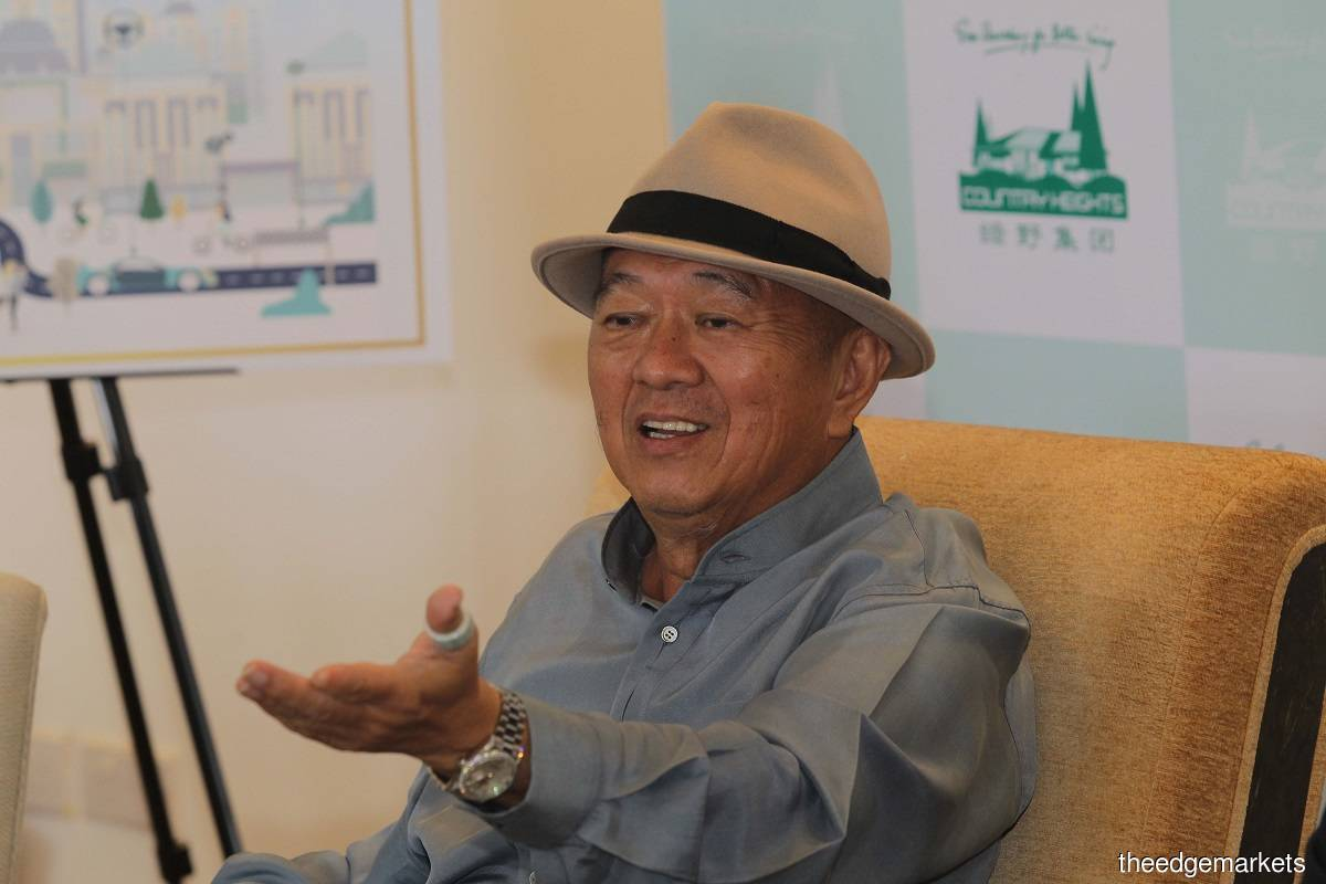 Country Heights founder and executive chairman Tan Sri Lee Kim Yew (Photo by Haris Hassan/The Edge)