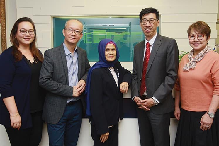The Edge Malaysia-PEPS : Value Creation Award 2019 judges