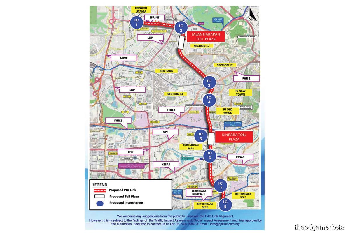 PJD Link eyes submission of plan for mega PJ highway in 2Q2022