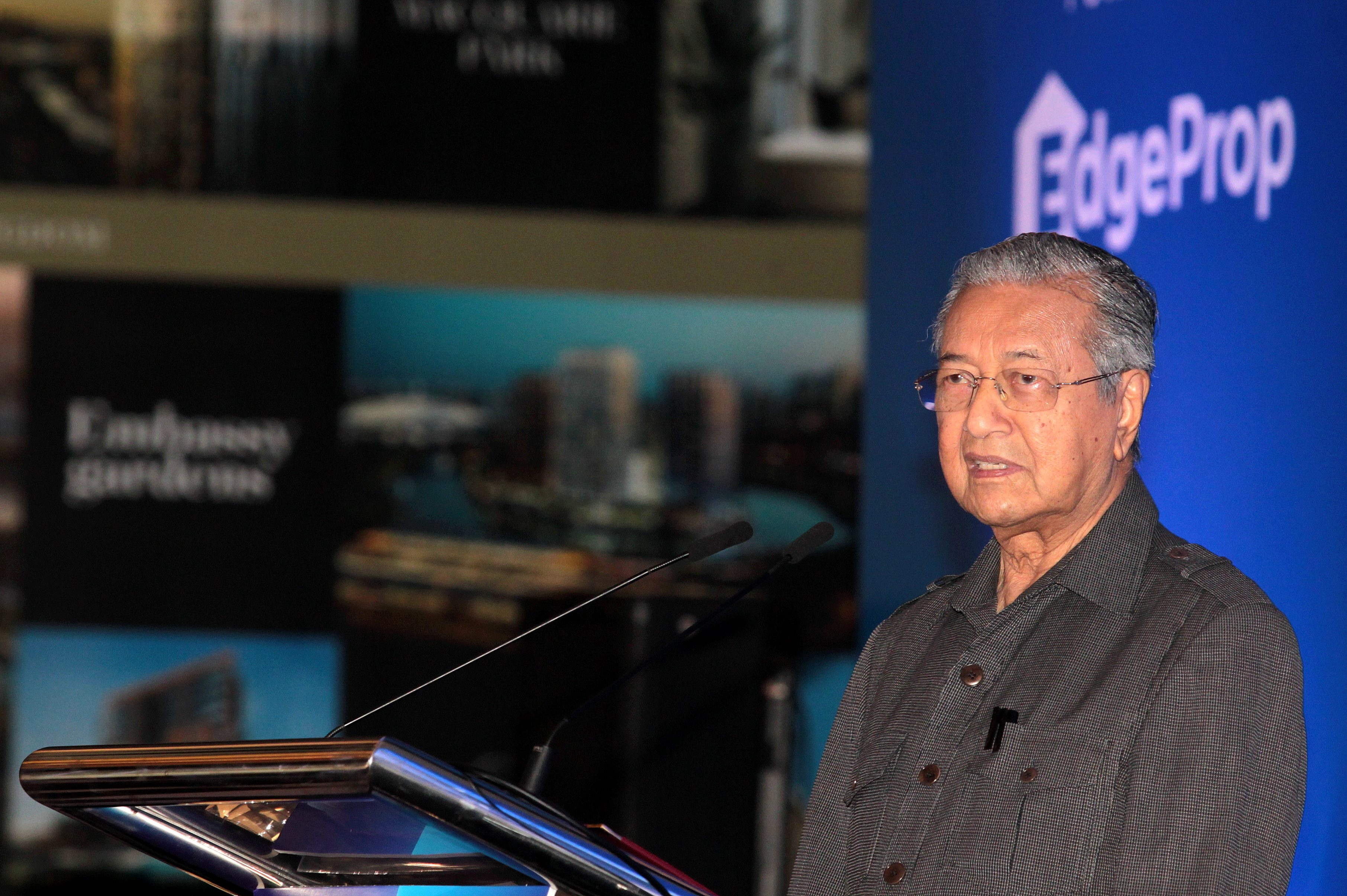 Image result for mahathir property crowdfunding
