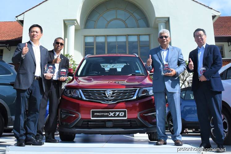 Proton X70 named Overall Car of the Year 2019