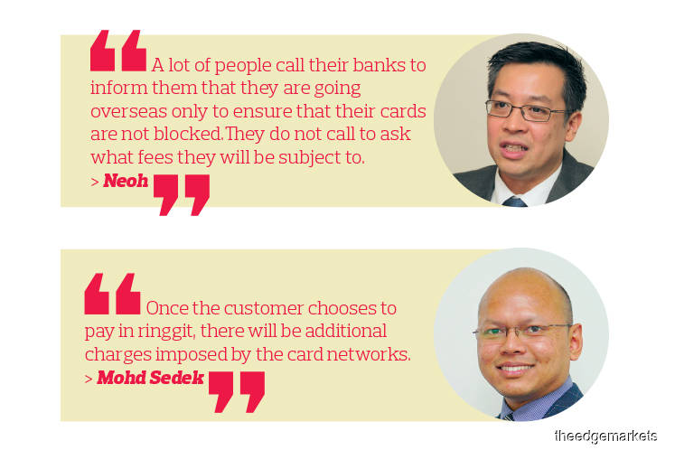 Payments: Beware of credit card charges for overseas transactions