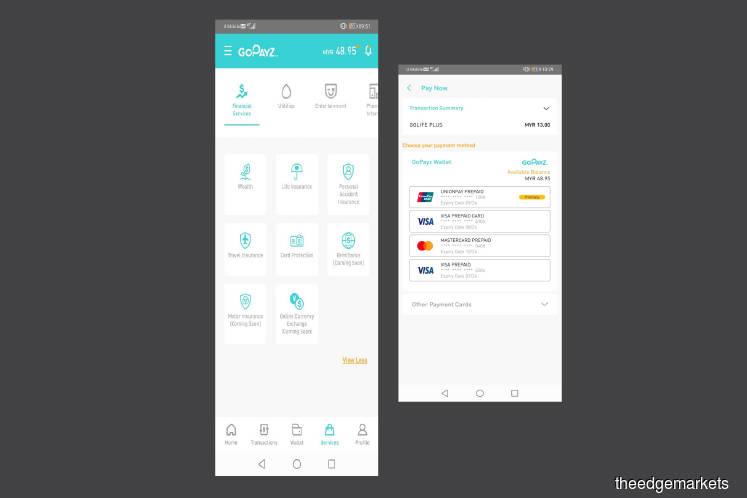 Financial Hacks: An e-wallet for financial services