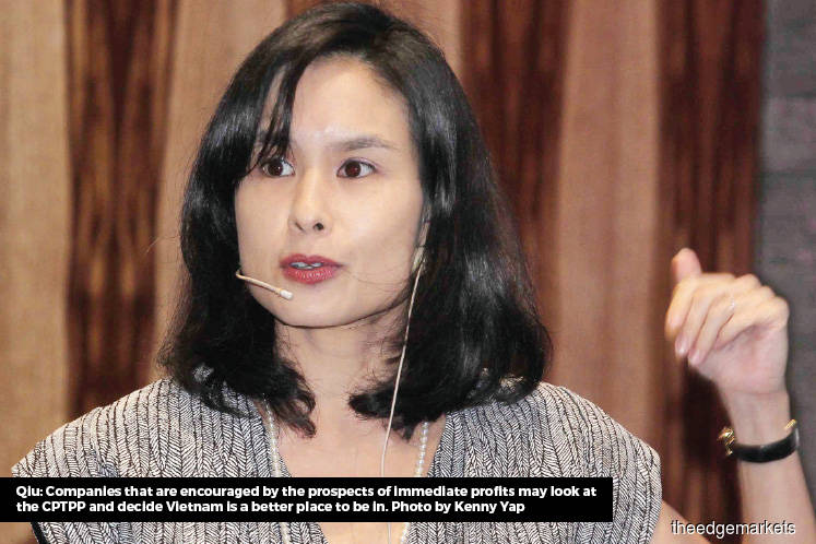 'Malaysia to lose foreign business to Vietnam if it does not ratify CPTPP'