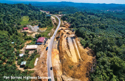 Funding issues for Pan Borneo Highway