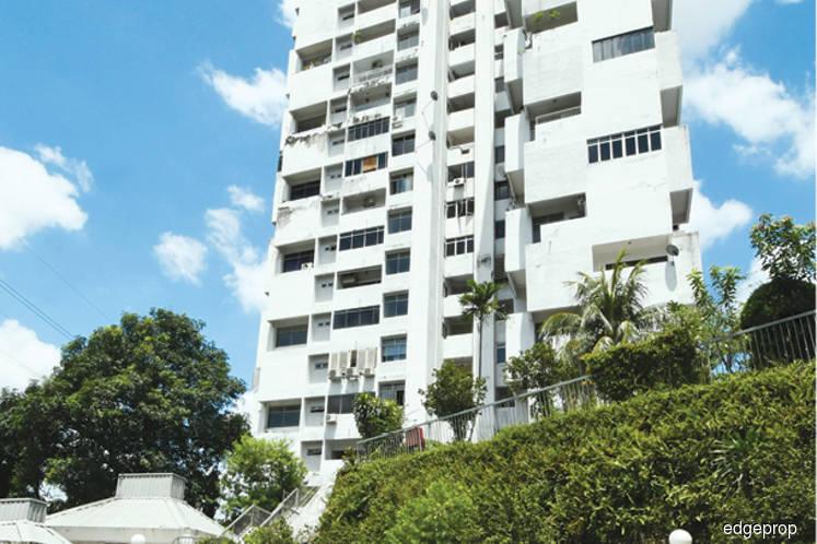 A condominium burdened by a prolonged legal battle