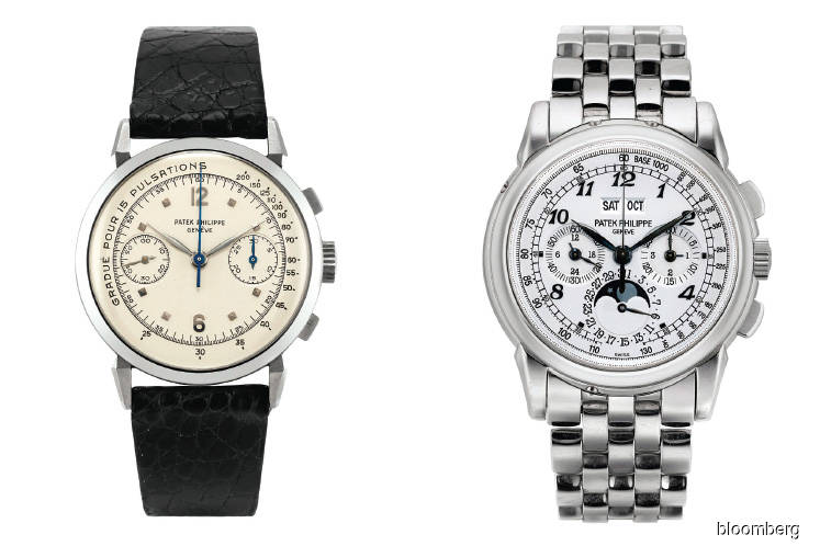 Patek Philippe watches on Auction