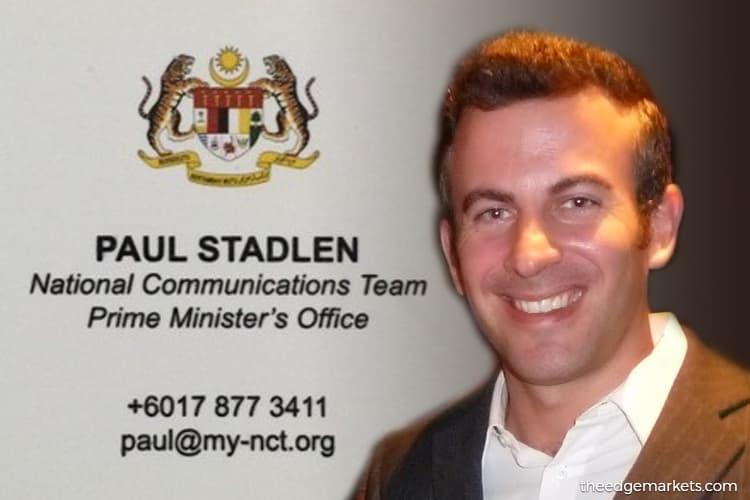MACC hunts for Najib's PR mastermind Stadlen