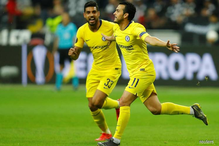 Chelsea draw 1-1 at Eintracht in Europa League semi first leg